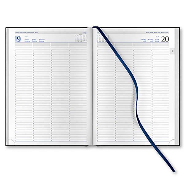 Afbeelding van agenda Castelli 2021 H65 Praktijk Mundior 210x297mm 1/1 - 4 kolommen - zwart
