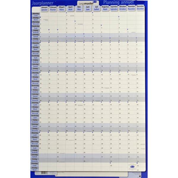 Afbeelding van jaarplanner Legamaster 2021 - persoonlijkeplanner - verticaal - karton