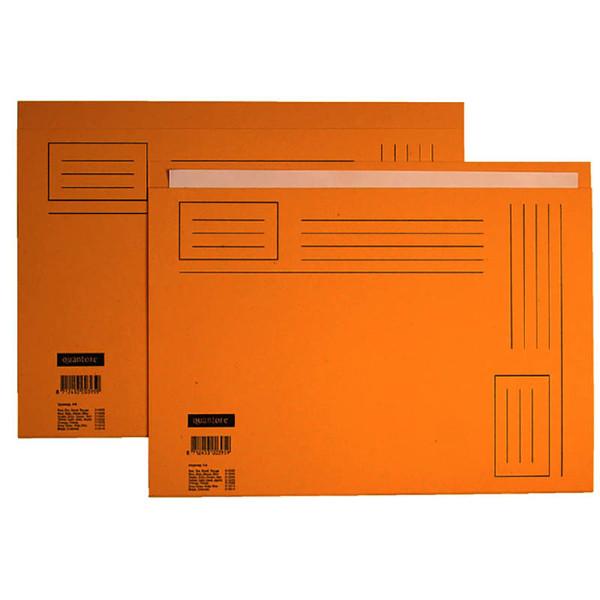 Picture of vouwmap Quantore A4 ongelijke zijde 230gr 10stuks geel