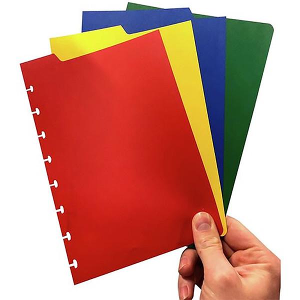 tabbladen Correctbook A5 assorti