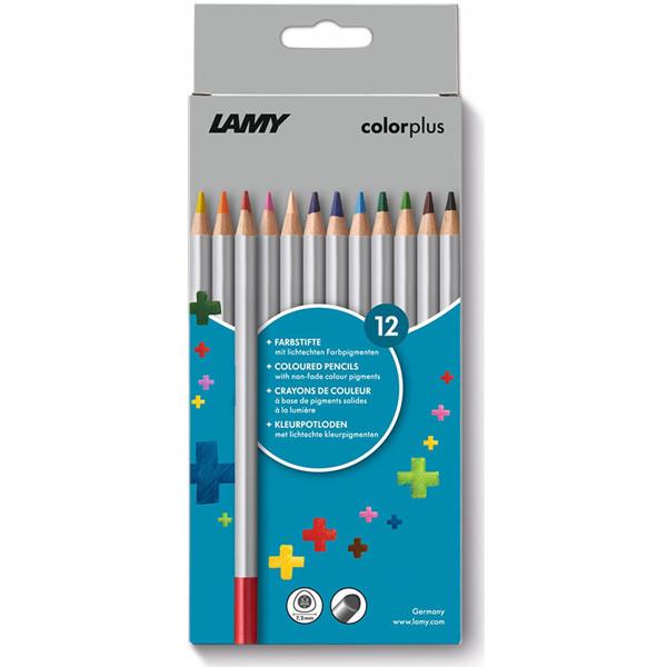 kleurpotloden Lamy Colorplus 12 kleuren