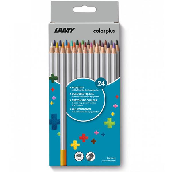 kleurpotloden Lamy Colorplus 24 kleuren