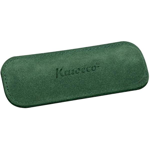 Afbeelding van pennenetui Kaweco Eco Sport Velours voor 2 pennen Green