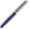 Afbeelding van vulpen Waterman Hemisphere Essential Sandblasted steel matt blue CT