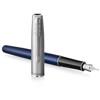 Afbeelding van vulpen Parker Sonnet Essential blue  CT Sandblasted Steel