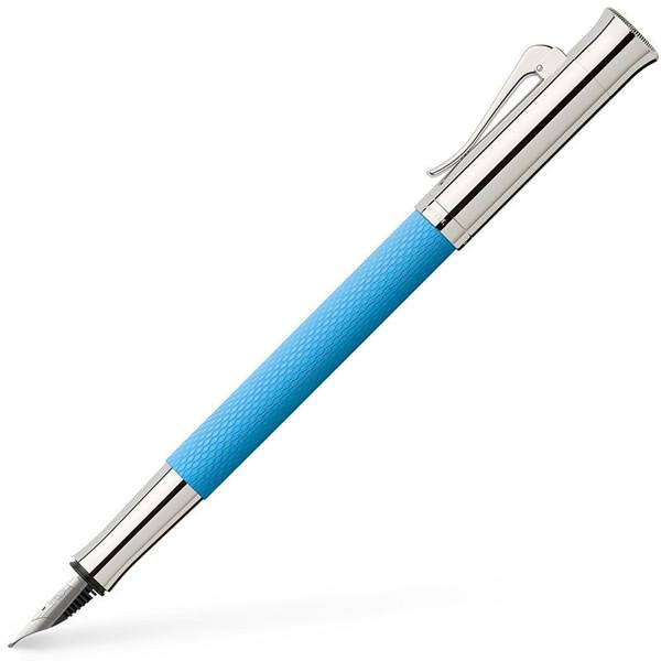 vulpen Graf von Faber-Castell Guilloche Gulf Blue