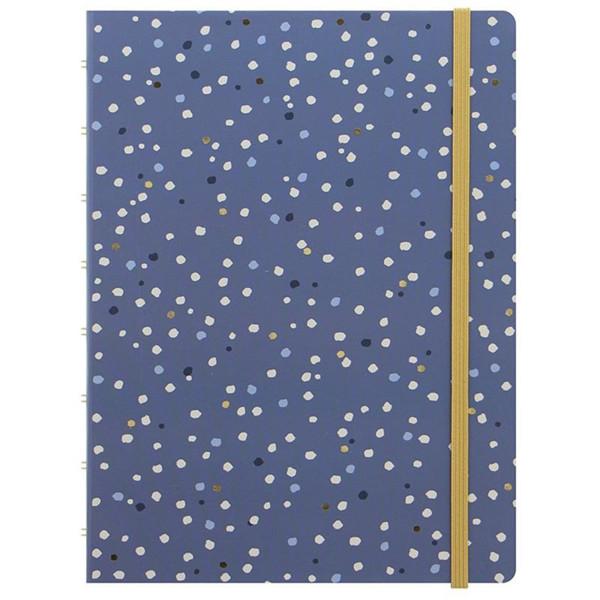 Bild von notitieboek Filofax Notebook A5 Indigo Snow