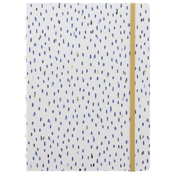 Bild von notitieboek Filofax Notebook A5 Indigo Rain
