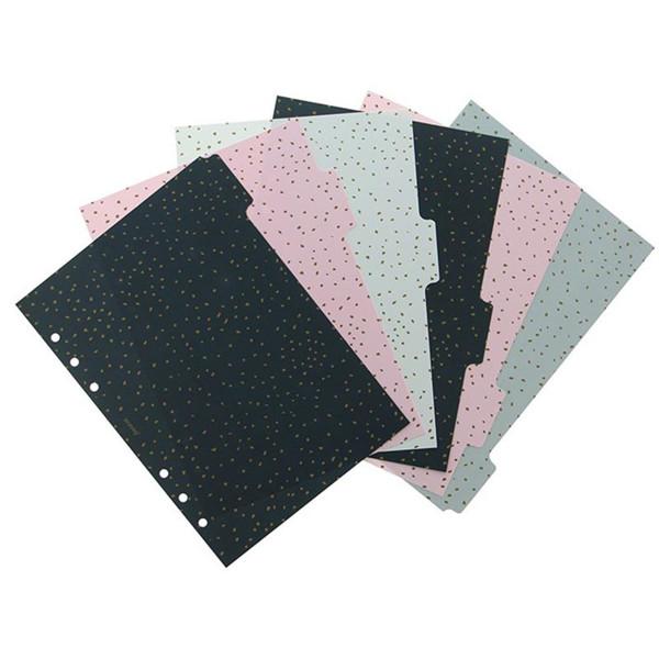 Afbeelding van Filofax A5 index 6-tabs Confetti assorti coloured
