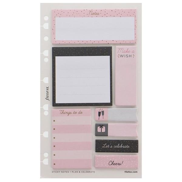Afbeelding van filofax Personal / A5  Confetti Sticky Notes