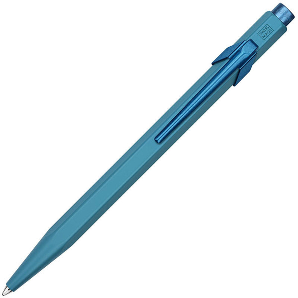 Afbeelding van balpen Caran d'Ache 849 Claim Your Style ** Edition 3 ** Ice blue