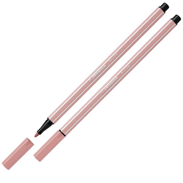 Afbeelding van viltstift Stabilo pen 68-28 1.0mm blush