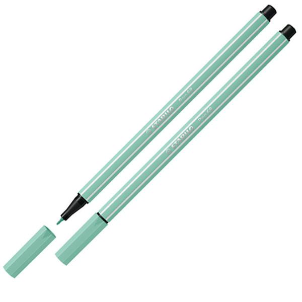 Afbeelding van viltstift Stabilo pen 68-12 1.0mm eucalyptus