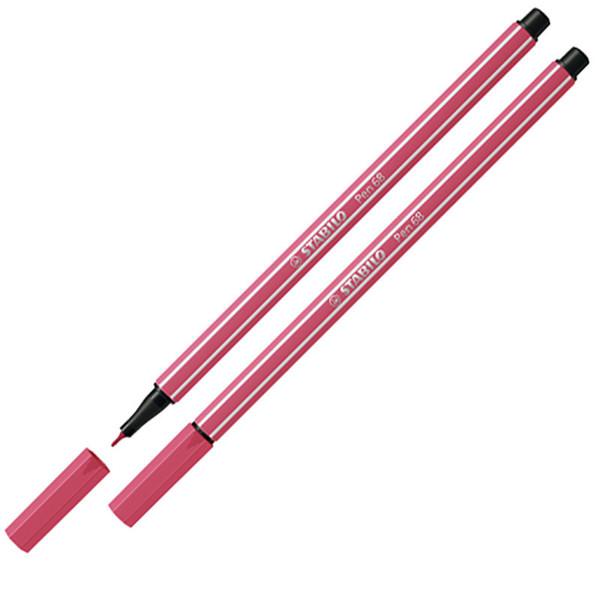 Afbeelding van viltstift Stabilo pen 68-49 1.0mm aardbeien rood