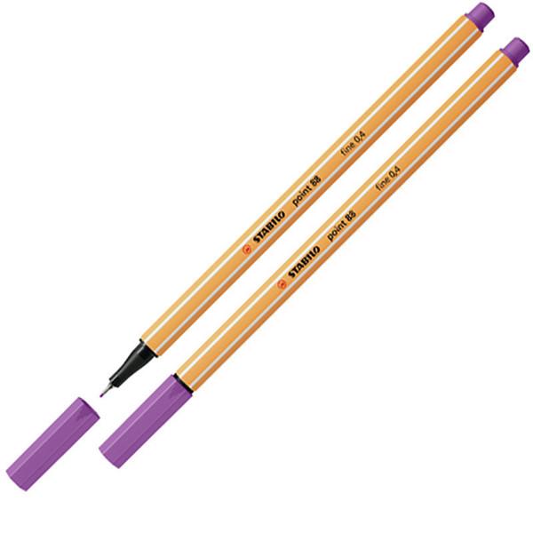 Bild von fineliner Stabilo point 88-60 pruimen paars