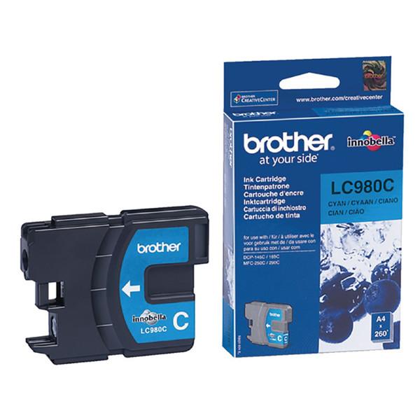inktcartridge Brother LC-980C cyaan