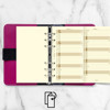 filofax Personal jaarplanner vertikaal 2023 cotton cream