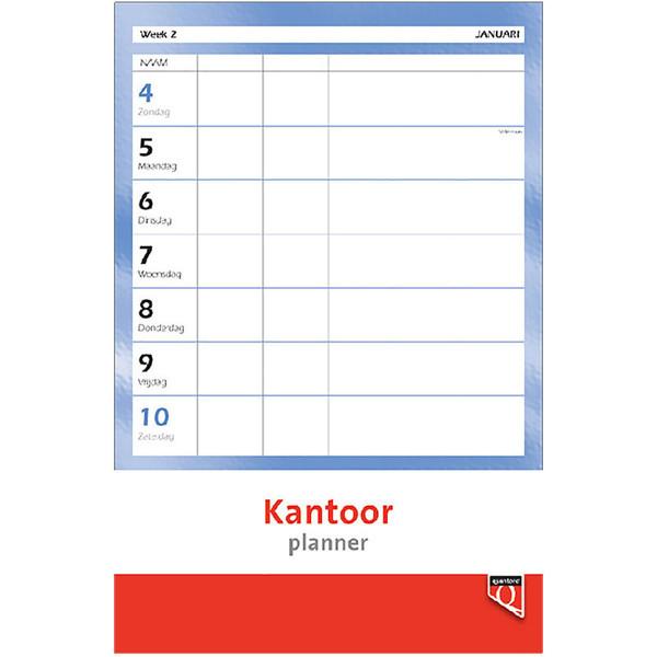 kalender Quantore 2022 weekkalender / planner - bovenspiraal