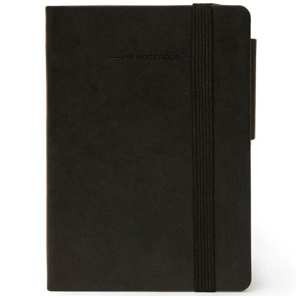 notitieboek Legami My Notebook Smal  95x135mm blanco black