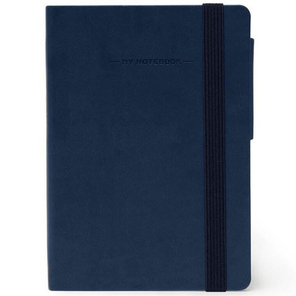 notitieboek Legami My Notebook Smal  95x135mm gelijnd blue