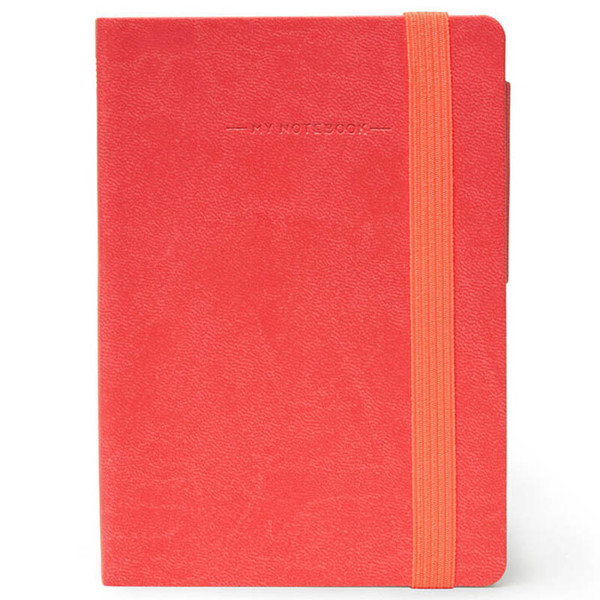 notitieboek Legami My Notebook Smal  95x135mm gelijnd coral