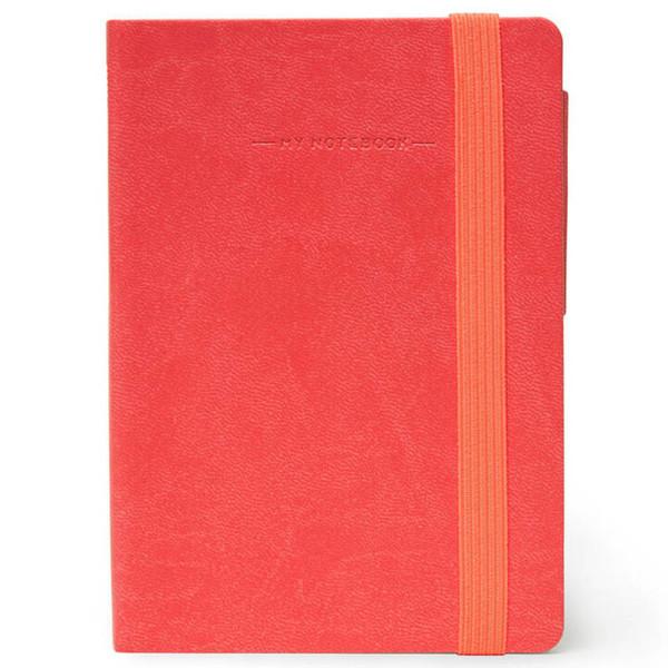 notitieboek Legami My Notebook Smal  95x135mm geruit coral