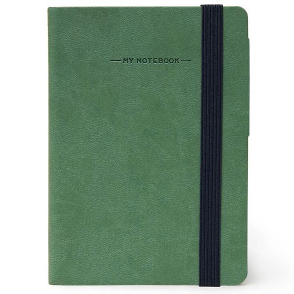 notitieboek Legami My Notebook Smal  95x135mm gelijnd vintage green