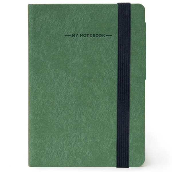 notitieboek Legami My Notebook Smal  95x135mm blanco vintage green