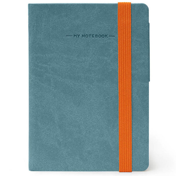 notitieboek Legami My Notebook Smal  95x135mm geruit grey