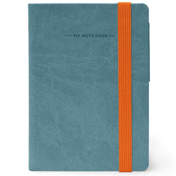 notitieboek Legami My Notebook Smal  95x135mm blanco grey