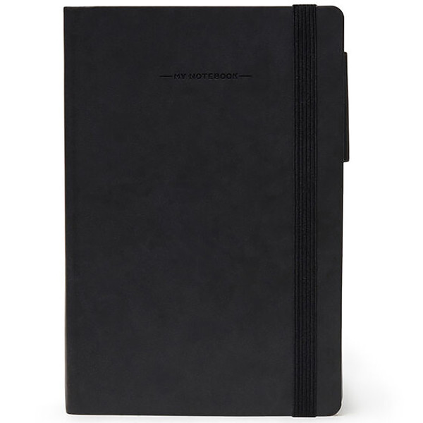notitieboek Legami My Notebook Medium 120x180mm geruit black