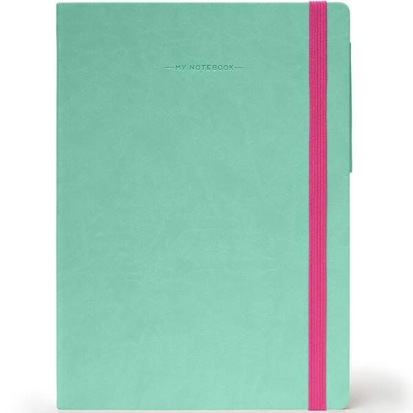 notitieboek Legami My Notebook Medium 120x180mm geruit aqua