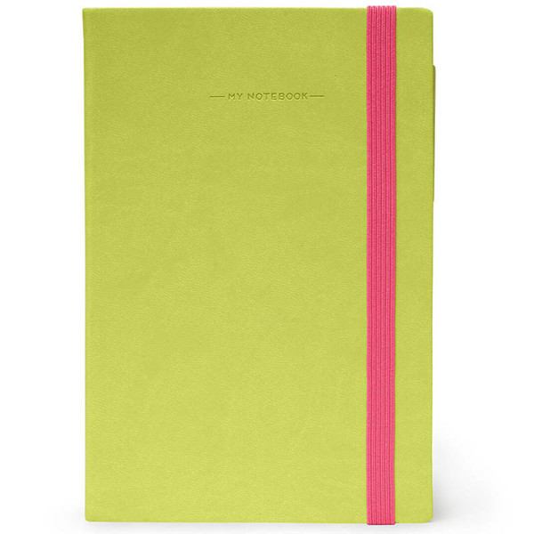 notitieboek Legami My Notebook Smal  95x135mm blanco green