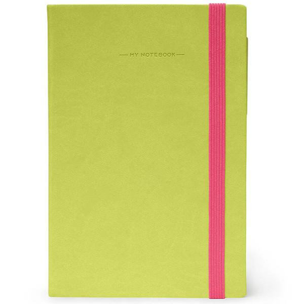 notitieboek Legami My Notebook Medium 120x180mm geruit green