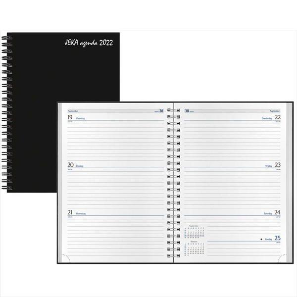 agenda Castelli 2022 H77 Jeka 145x205mm 7/2 - zwart