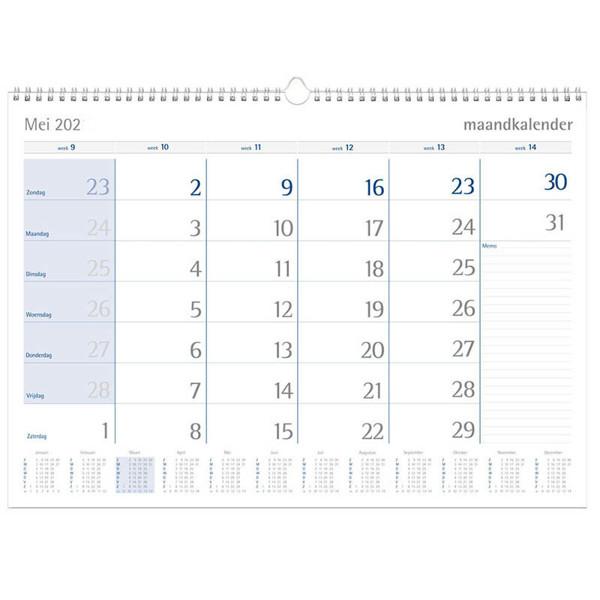 Afbeelding van kalender Castelli 2022 maandkalender spiraal