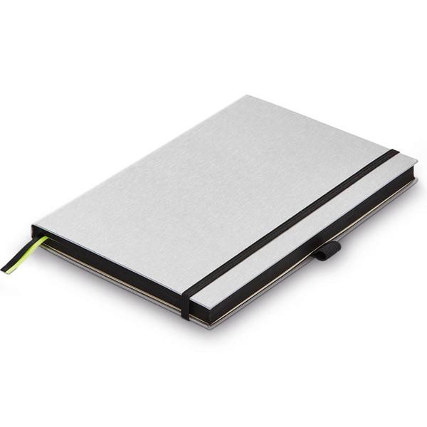 LAMY notitieboek A5 hardcover blanco silver-black