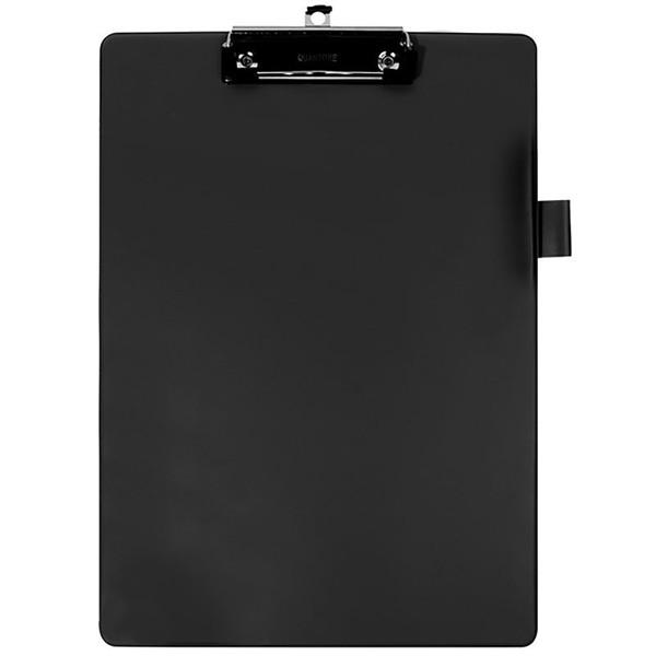 klembord Quantore A4 - 100mm klem + penlus - zwart